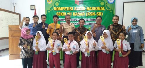 Korwil Bidang Pendidikan Slogohimo Gelar Kompetisi Sains Nasional (KSN)