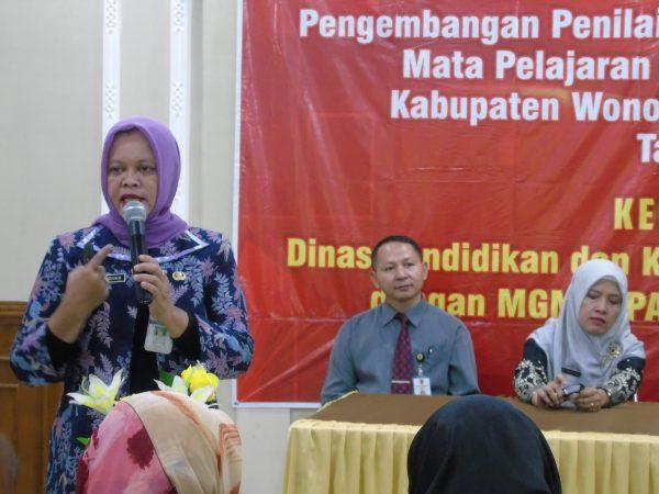 MGMP IPA SMP Kabupaten Wonogiri Gelar Workshop Penilaian