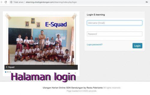 Berani Beda, SDN Gendungan Terapkan E-Learning