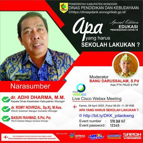 Saron Wonogiren (Sarasehan Online)