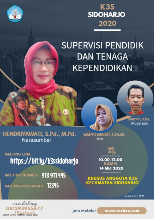 K3S Sidoharjo Sukses Gelar Rapat Virtual
