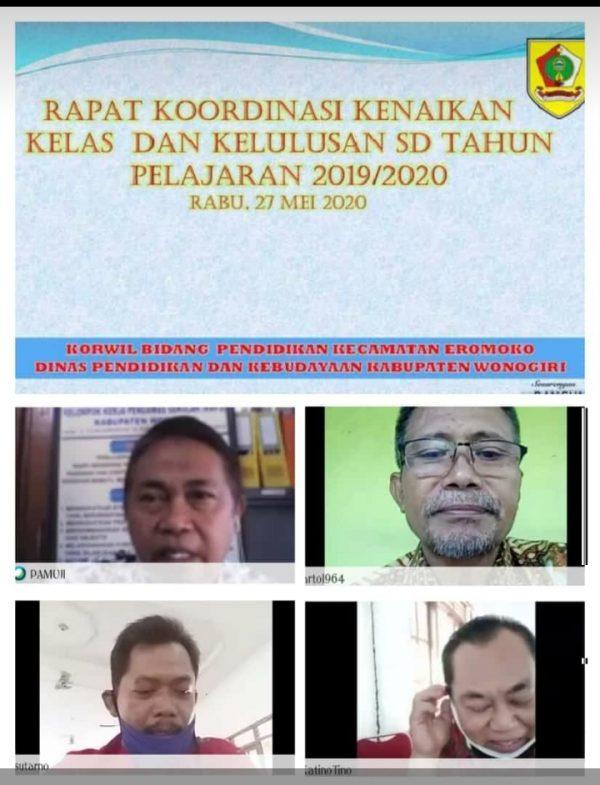 Forum KKG dan FKKKS Eromoko Merajut Inovasi di Tengah Pandemi