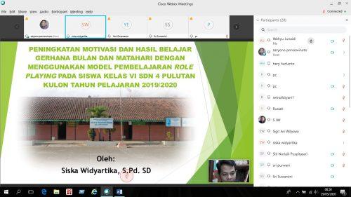 KKG Gugus Anggrek Wonogiri Gelar Seminar PTK dan PTS