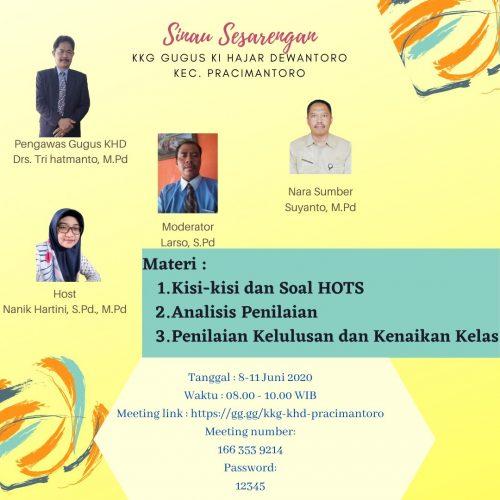 KKG Virtual di Bumi Karst Indonesia