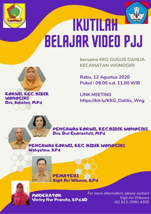 KKG Dahlia Wonogiri Mantapkan PJJ dengan Video
