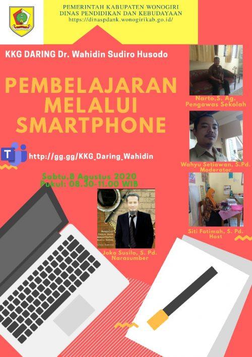 Gugus Dr. Wahidin Sudirohusodo Berbagi Kiat Pembelajaran Melalui Smartphone