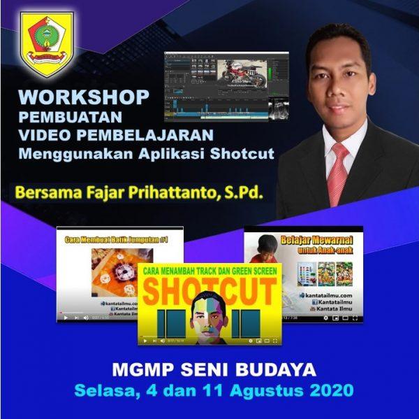 MGMP Seni Budaya Kabupaten Wonogiri Siapkan Video Pembelajaran