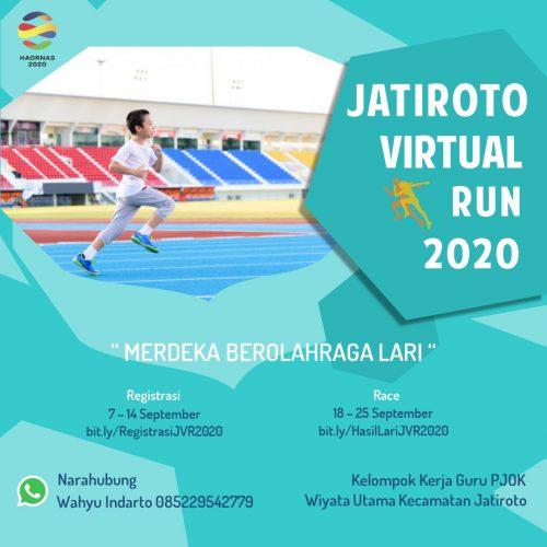 Berani Beda, KKG PJOK Jatiroto Gelar JVR 2020