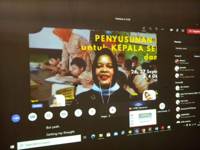 Tim Kreatif Kecamatan Girimarto Gelar Pelatihan e-KTSP