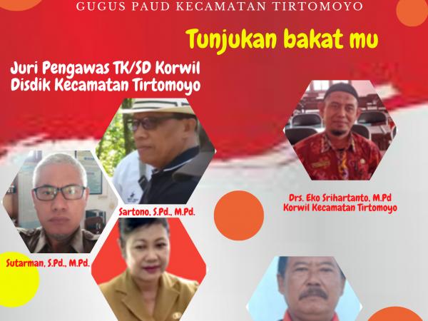 Rayakan HUT Ke-75 RI  Gugus Paud Tirtomoyo Gelar Lomba Bercerita