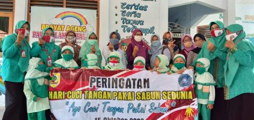 PAUD Al Falah Baturetno Peringati  Global Handwashing Day 2020