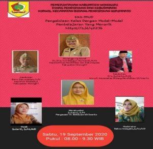 Model Pembelajaran Menarik Warnai Vicon KKG TK Girimarto