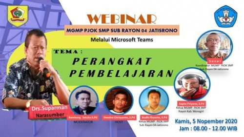 MGMP PJOK Subrayon 04 Jatisrono Bedah Kunci Sukses Guru PJOK