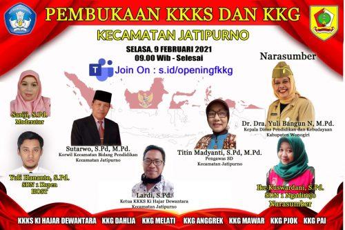 KKKS dan FKKG Jatipurno Sukses Gelar Vicon Perdana