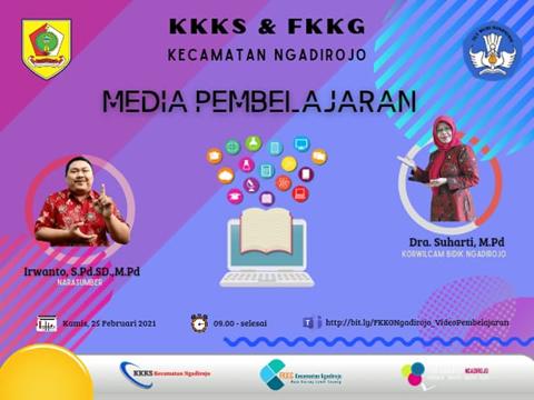 KKKS dan FKKG Ngadirojo Gelar Webinar Media Pembelajaran
