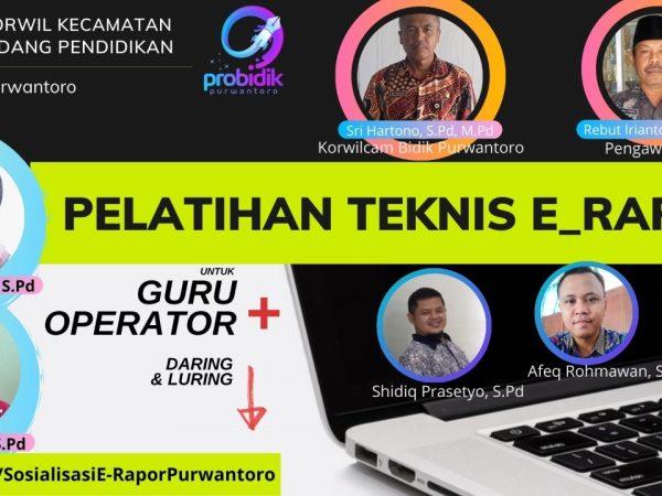 FKKG Purwantoro Gelar Diseminasi   E - Rapor SD untuk Guru