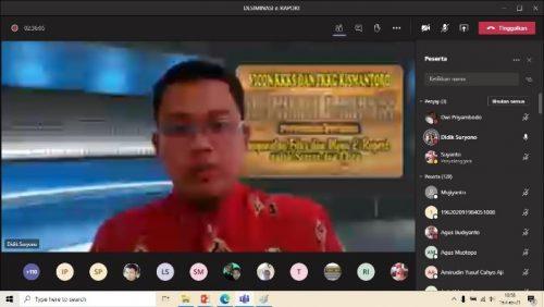 KKKS dan FKKG Kismantoro Gelar Sosialisasi e-Rapor