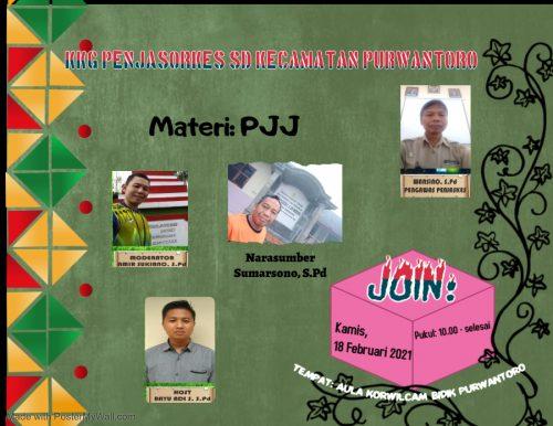 KKG Penjasorkes Kecamatan Purwantoro Memanfaatkan RPP di Portal Pendidikan