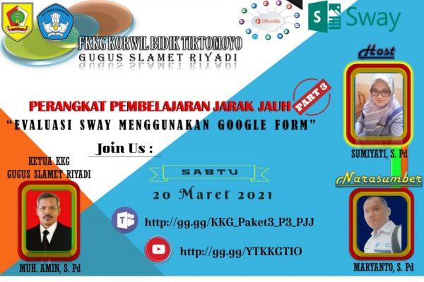 Tim FKKG Kecamatan Tirtomoyo Kupas Tuntas Pemanfaatan Google Form