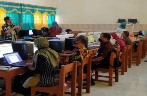 SMPN 1 Ngadirojo Sukses Laksanakan PTS Online  Menggunakan Aplikasi Mobile Exam  Pro
