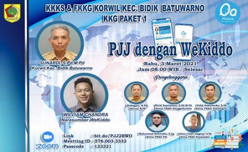 KKKS dan FKKG Batuwarno Kolaborasi dengan Wekiddo Maksimalkan PJJ