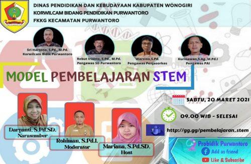 FKKG Purwantoro Kupas Tuntas Model Pembelajaran STEM