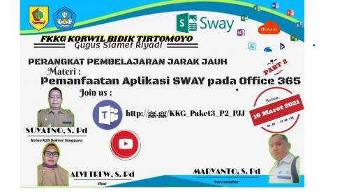 FKKG Kecamatan Tirtomoyo Kupas Pemanfaatan Aplikasi Sway