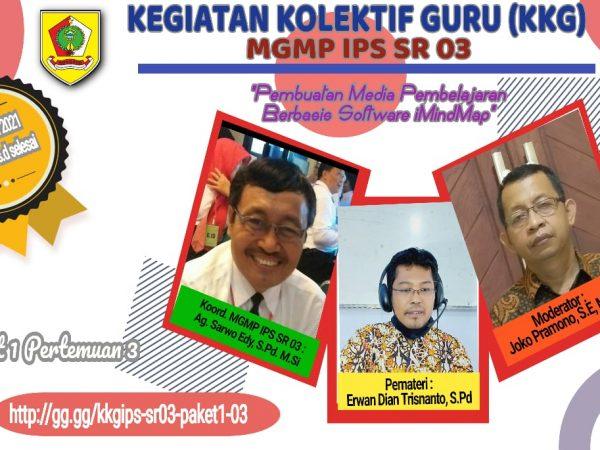 MGMP IPS Subrayon 03 Baturetno Akhiri KKG Paket 1