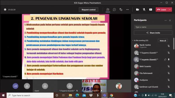 KKKS Pracimantoro Selenggarakan Webinar Sosialisasi PIGP