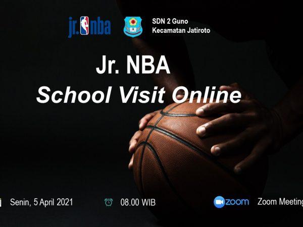 SDN 2 Guno Jatiroto Terima Kunjungan Jr. NBA