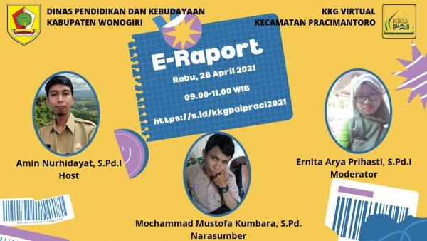 KKG PAI Kecamatan Pracimantoro Gelar Pelatihan E-Rapor