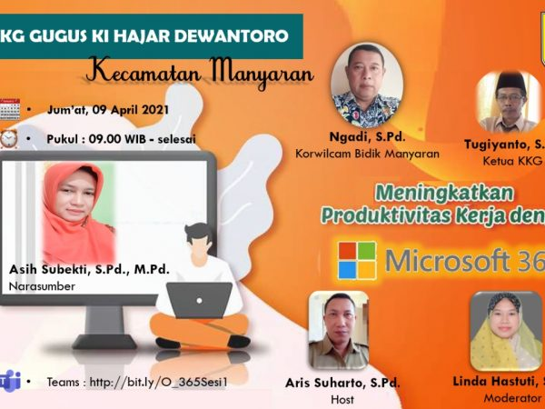 Peningkatan Produktivitas Kerja dengan Microsoft 365 Bersama Gugus Ki Hajar Dewantoro