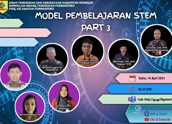 FKKG Purwantoro Pelajari Model Pembelajaran STEM