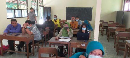 KKG PJOK SD Kecamatan Wonogiri Manfaatkan E-Rapor