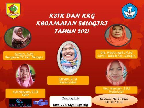 K3TK dan KKG Kecamatan Selogiri Kupas Tuntas Silabus