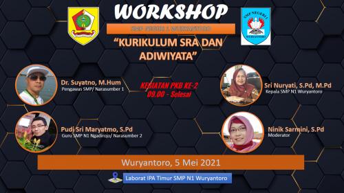 SMP N 1 Wuryantoro Laksanakan Workshop Sekolah Ramah Anak dan Adiwiyata