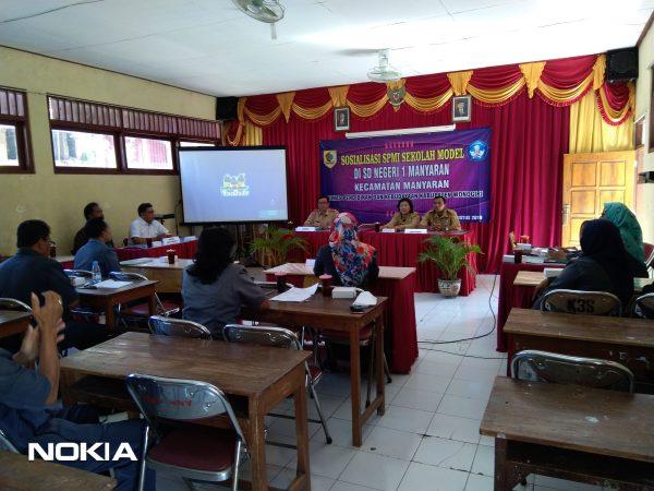 Manter Tingkatkan Mutu Sekolah SD Negeri 1 Manyaran