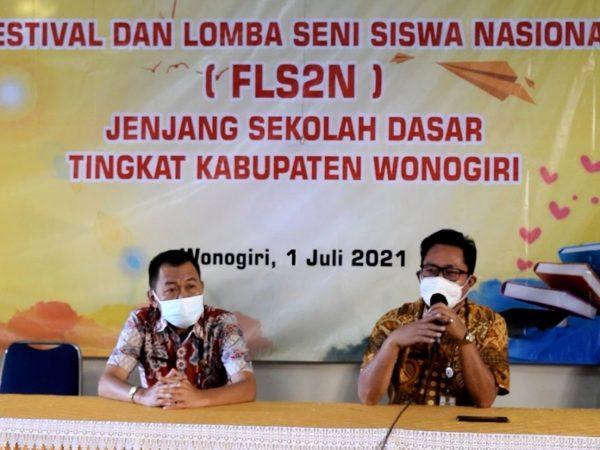 FLS2N 2021 Kabupaten Wonogiri Tetap Berkarya dan Berprestasi di Tengah Pandemi