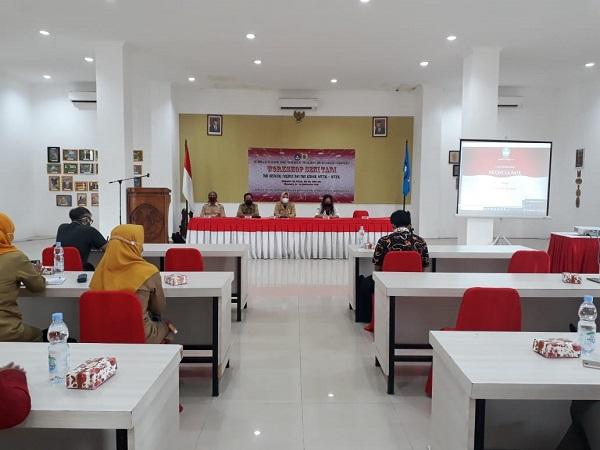 Dinas Pendidikan dan Kebudayaan Gelar Workshop Seni Tari Kabupaten Wonogiri (Tari Krincing Nogiren)