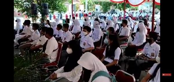 Vaksinasi Siswa SMP, MTs dan SMPLB Kabupaten Wonogiri