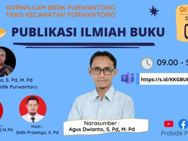 FKKG Purwantoro Bekerjasama Sang Pengajar Gelar Penulisan Buku